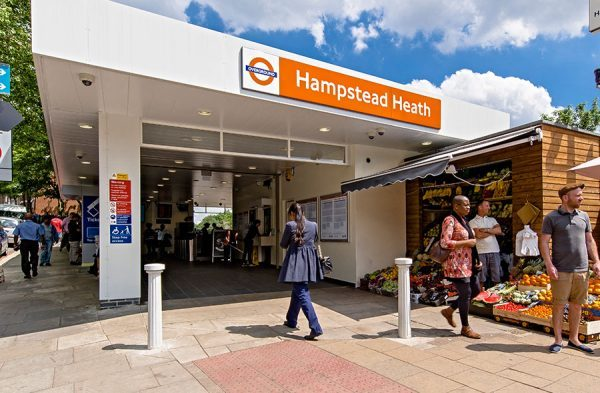 Hampstead Heath station is a two-minute walk from the church and we are ten minutes' walk from Hampstead and Belsize Park tube stations