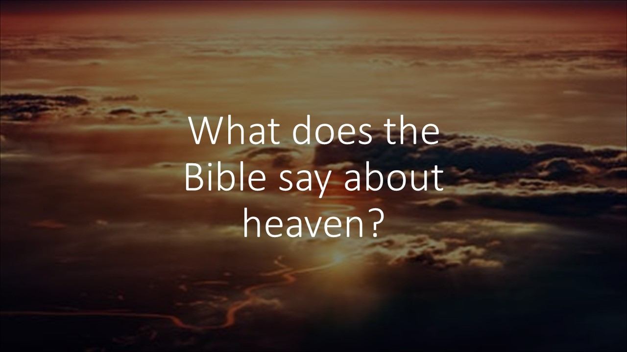 1 Thessalonians 4:13-18-What happens when we die?
